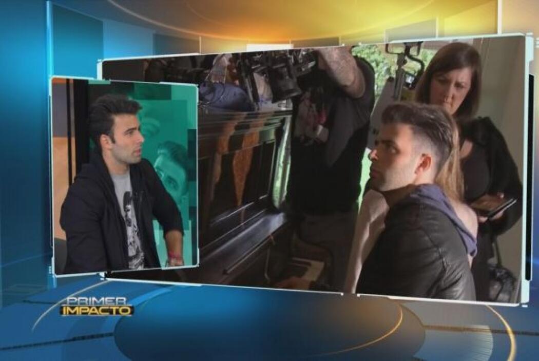 """Jencarlos nos invitó en exclusiva a la filmación de su video """"Irreparab..."""