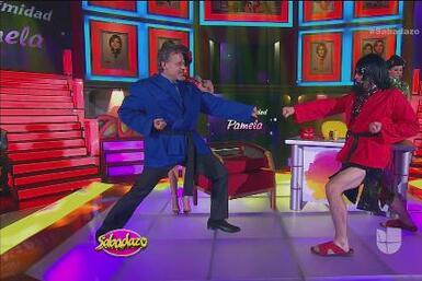 Pocos sabían que Alexis Ayala fue instructor de karate