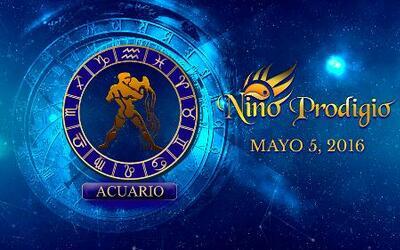 Niño Prodigio - Acuario 5 de mayo, 2016