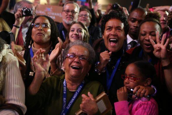 6 de noviembre. El presidente Barack Obama gana las elecciones presidenc...