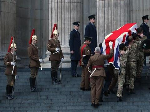 El Reino Unido se prepara para dar el último adiós el miércoles a la exp...