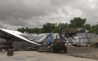 Reportan daños materiales en negocios de Stafford por el mal tiempo