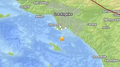 Residentes del sur de California fueron estremecidos por un sismo de mag...