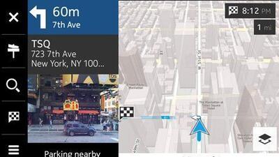 Samsung ahora podrá usar el sistema de mapas de Nokia.