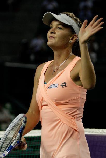 En 2011 se han enfrentado dos veces: en el torneo de Toronto, Radwanska...