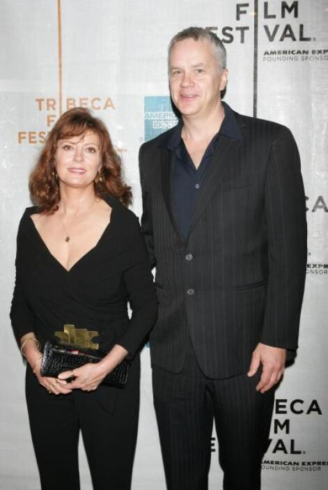 Antes, Sarandon mantuvo una relación de 21 años con el actor Tim Robbins...