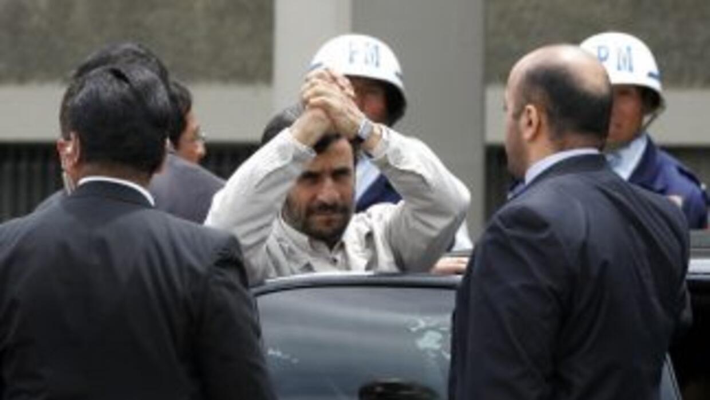 El gobierno del presidente iraní, Mahmud Ahmadineyad asegura que derribó...