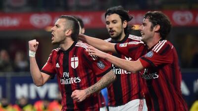 El francés Menez no deja de marcar goles para los 'rossoneri' y esta vez...