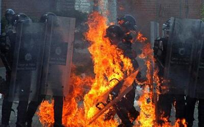 Reinician protestas en Venezuela por control en supermercados
