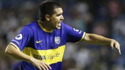 Riquelme seguirá su carrera pero con Argentinos, luego de no llegar a ni...