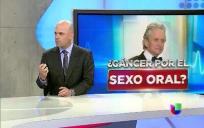 La verdadera causa del cáncer de garganta de Michael Douglas