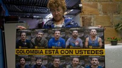 Las FARC se han comprometido a liberar a partir del lunes a los secuestr...