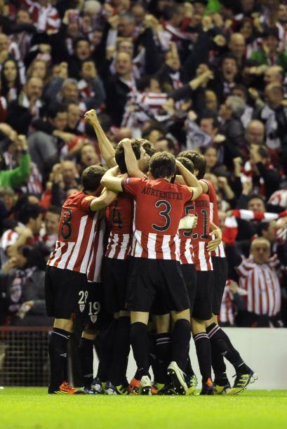 Pero justo al siguiente minuto, el Bilbao respondió de inmediato con un...