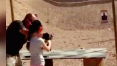 Niña de 9 años dispara accidentalmente a su maestro de tiro