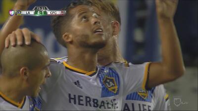 Giovani dos Santos hizo su primer gol con la playera del LA Galaxy