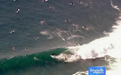 Peligro en las costas de California por el paso de 'Marie'