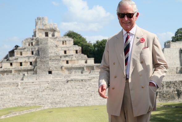 El recorrido del príncipe de Gales por México lo llevó a su nueva parada...