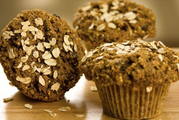 Muffins simples. Monique Richard, instructora de yoga y nutricionista ce...