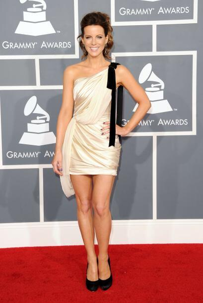 La bella Kate Beckinsale ahora sí deleitó a todos los caba...