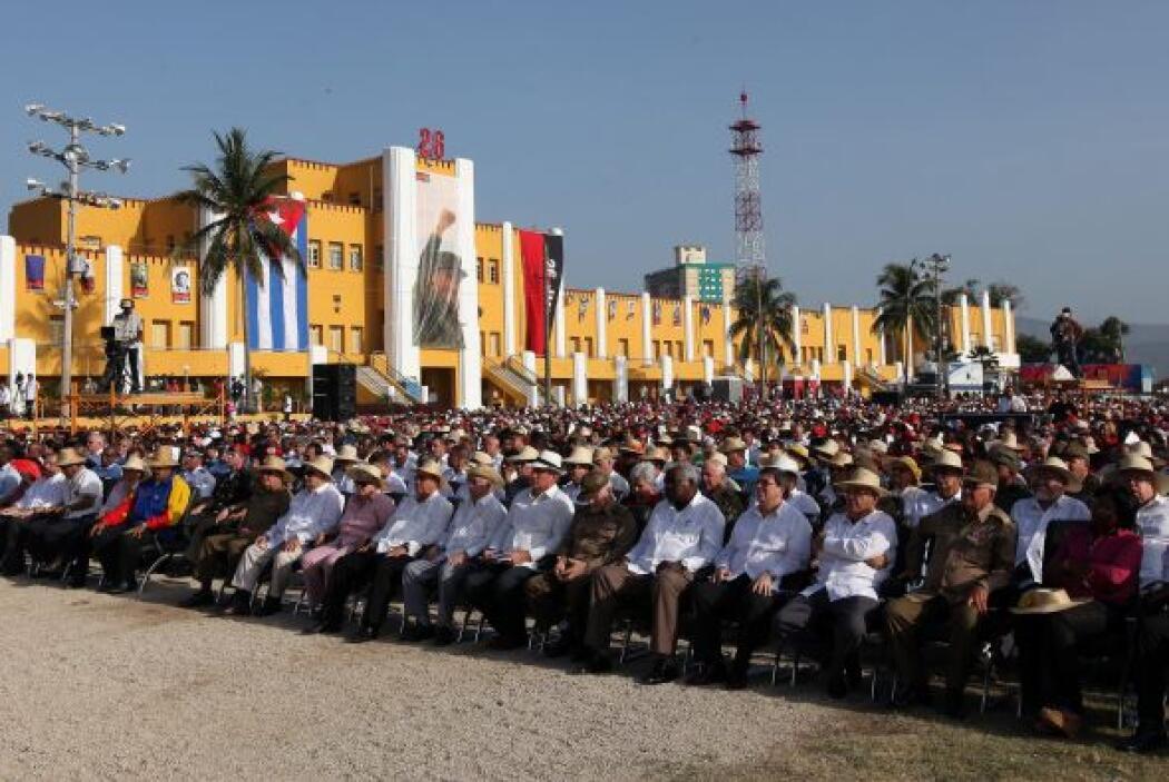 Cuba celebró el viernes el 60 aniversario del inicio de su revolución, q...