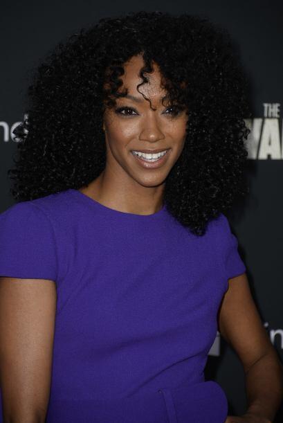 Sonequa Martin-Green entró en la tercera temporada. Ella es Sasha, la te...