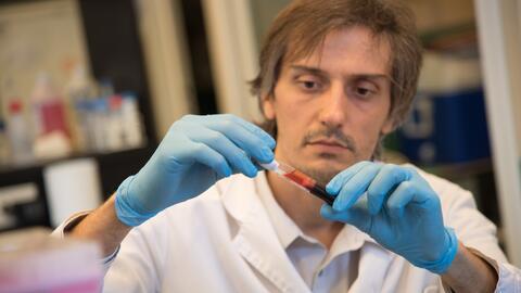 El científico argentino se especializa en virología e inmu...