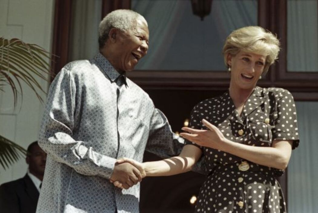 En 1997 la princesa Diana de Gales visitó Cape Town.
