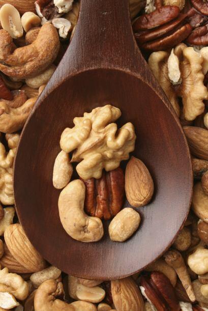 Las nueces son únicas. Es un alimento que contiene una cantidad s...