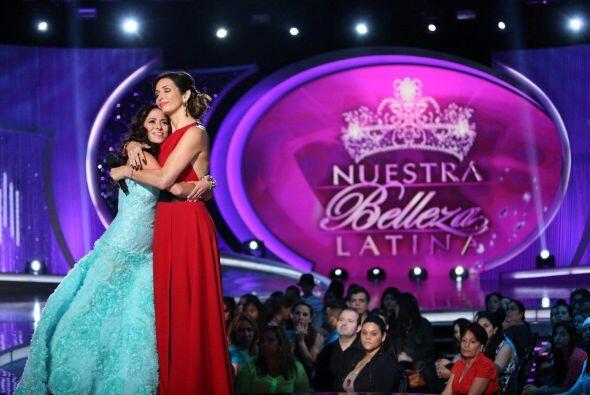 Giselle la abrazó y le recordó el gran corazón que tiene.