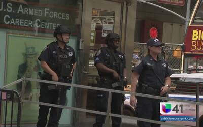 NY realiza un despliegue policíaco sin precedentes