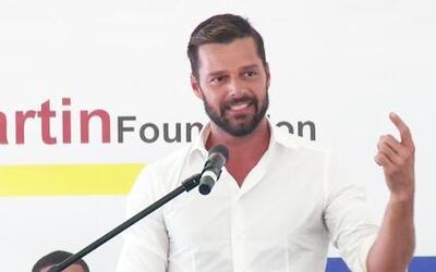 Ricky Martin inauguró un centro para menores en Puerto Rico