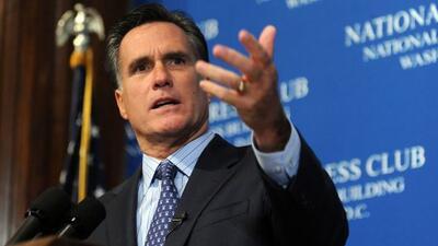 El candidato republicano Mitt Romney estará en Georgia para recaudar fon...