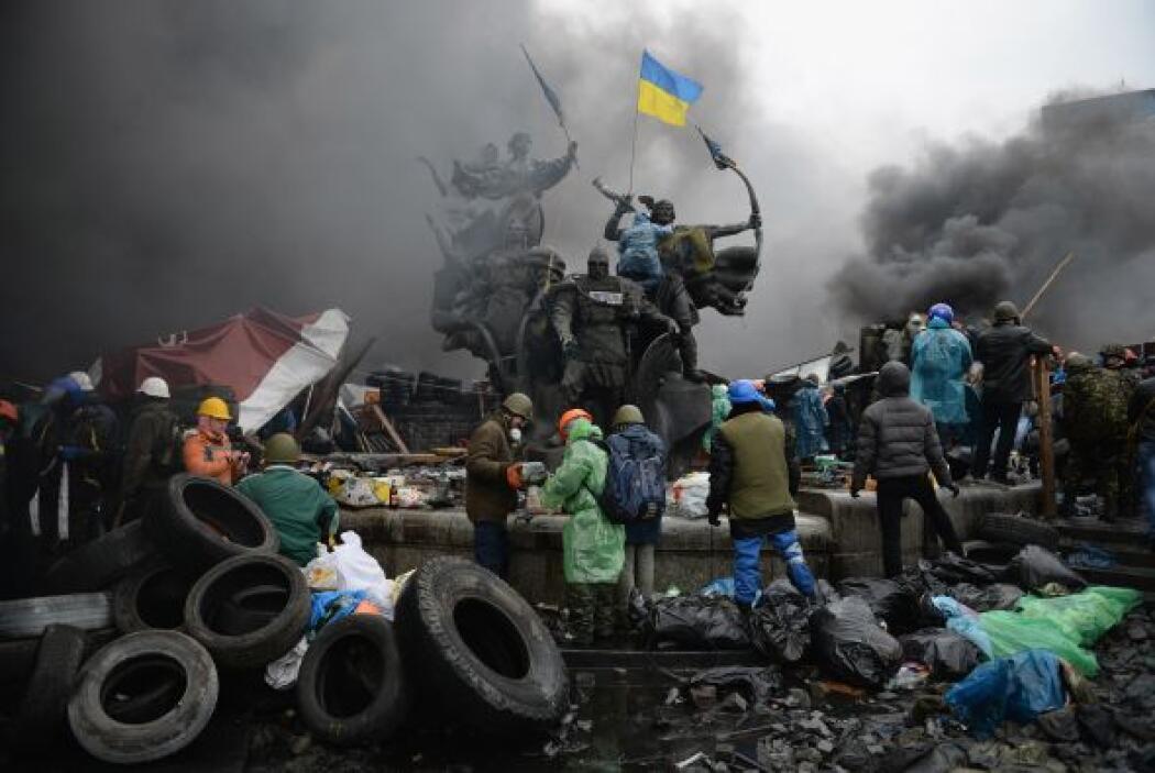 Las nuevas protestas dejaron cientos de heridos.