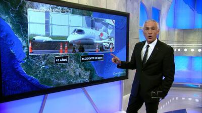 El avión de Jenni Rivera, con 43 años de servicio, había sufrido un desp...