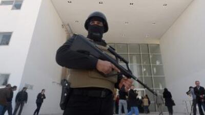 Extrema vigilancia en el museo Bardo en Túnez.