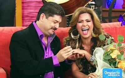 Le pidieron matrimonio a Carmen Jara