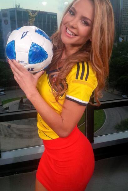 """""""¡Vamos colombia tu puedes!"""", compartió Ximena. (..."""