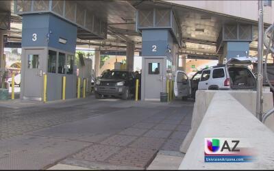 Arrestan a una mujer que intentaba cruzar la frontera en Nogales con 1,5...