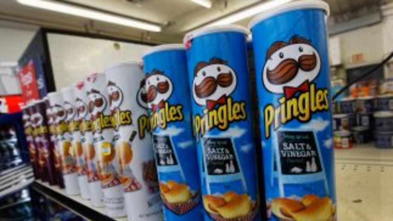 La venta de los productos Pringles dará a la compañía una ganancia despu...