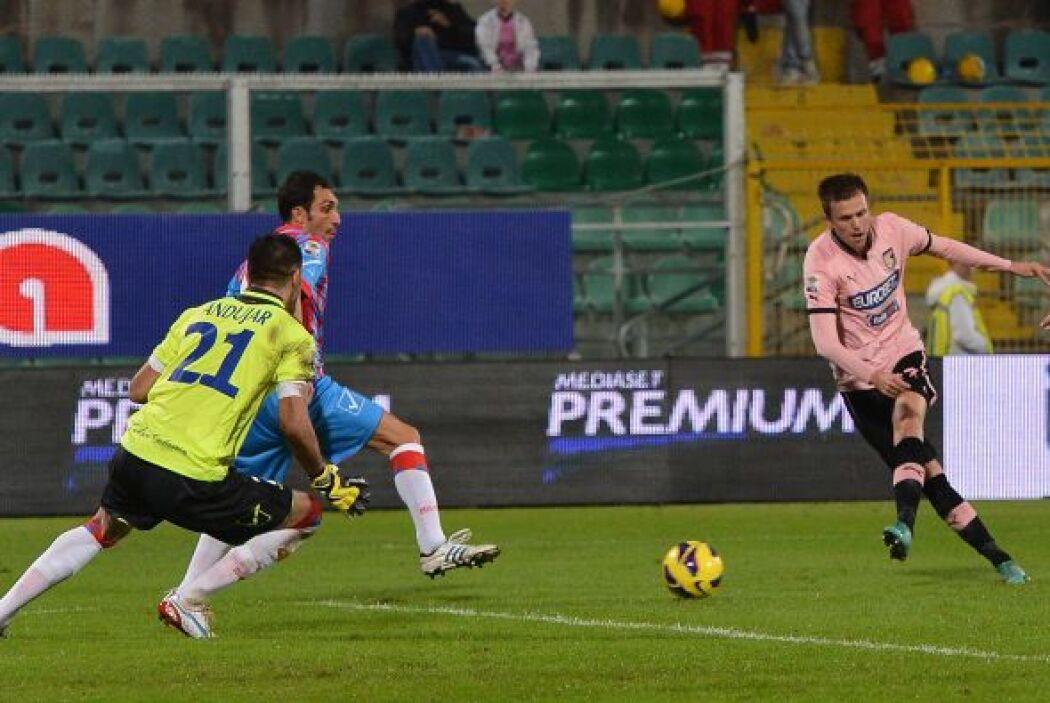 En la victoria de los suyos sobre el catanis por 3-1, Ilicic marcó un do...