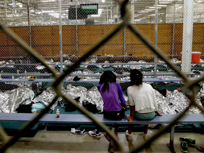 Imagen de archivo de un centro de detención de inmigrantes.