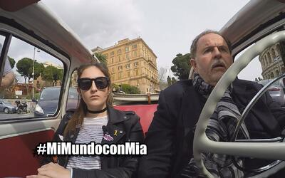 Mi Mundo con Mia episodio 1, Raúl se enfureció con Mia por llevarse su c...