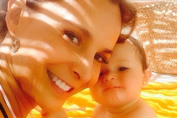 En el 2013 cumplió su ilusión de convertirse en madre al a...