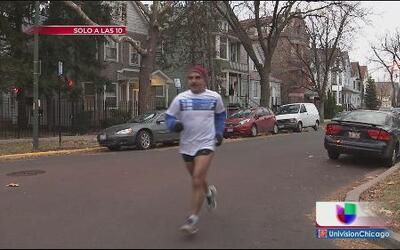 Hispano corre para sanar las heridas del crimen en Chicago