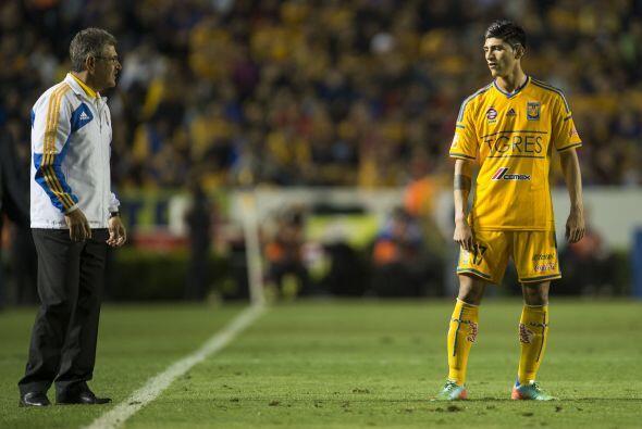 Anotó el segundo gol del partido al minuto 27, tiró cuatro...