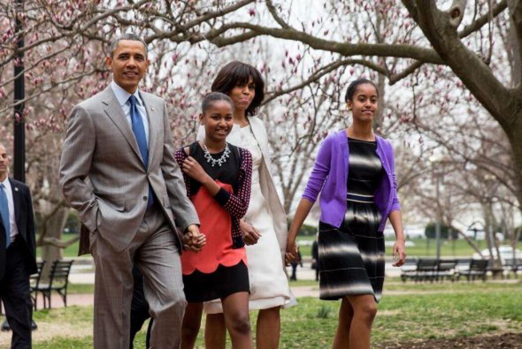 El presidente estadounidense Barack Obama advirtió a sus hijas sobre la...