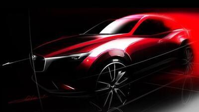 El nuevo CX-3 estará en el apretado segmento de la Chevrolet Trax, Nissa...