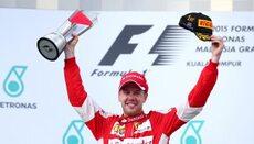 El piloto alemán consiguió la primera victoria de Ferrari desdepués de 6...