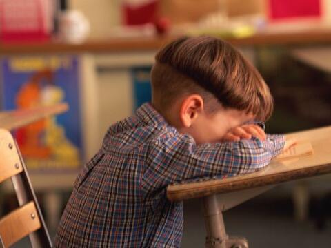 El primer día de clases no siempre es felicidad, algunos ni&ntild...