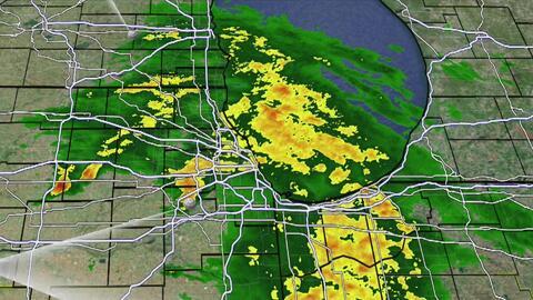 Viernes pasado por lluvias en Chicago